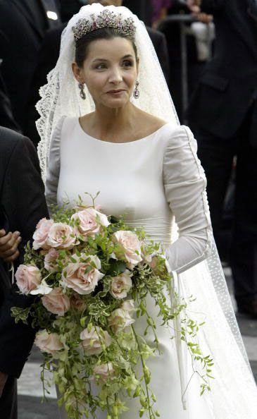 #Mariages royaux: #Clotilde #Courau et le #prince #Emmanuel #Philibert de #Savoie. Photo: Getty Images