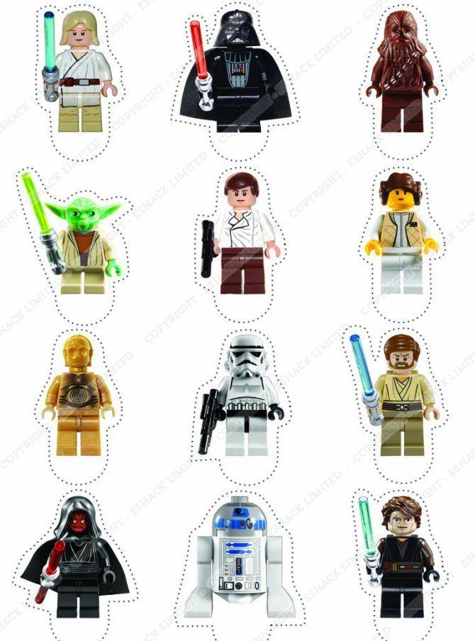 Hermosa Lego Star Wars Yoda Para Colorear Bandera - Páginas Para ...