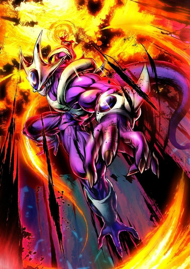 Cooler Brother Of Frieza Destroyer Of Worlds Dragon Ball Dragon