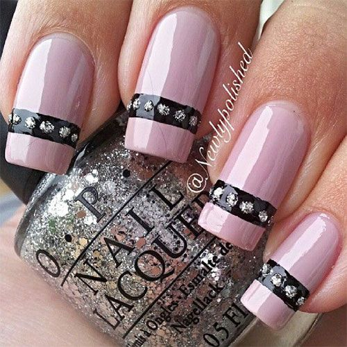 Inspiring Pink Nail Art Designs & Ideas 2013/ 2014 - Best 25+ Pink Nail Ideas On Pinterest Pink Nails, Colorful Nail