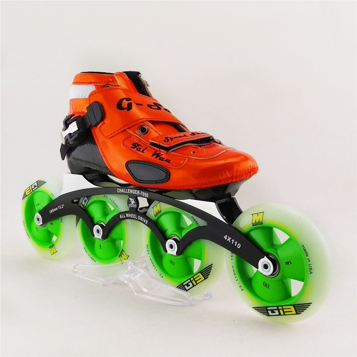 374.00$  Buy now - http://alii0f.worldwells.pw/go.php?t=32624814751 - Adults/Children Professional Speed Inline Skates High Quality Carbon Fiber Patins 4 wheels Roller Shoes patines en linea 374.00$