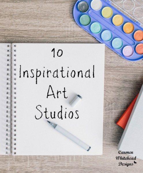 10 Inspirational Art Studios