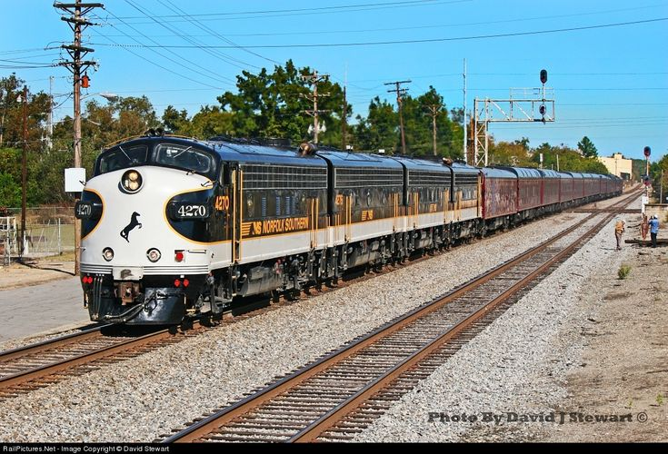 RailPictures.Net Photo: NS 4270 Norfolk Southern EMD F9(A) at Cordele , Georgia by David Stewart