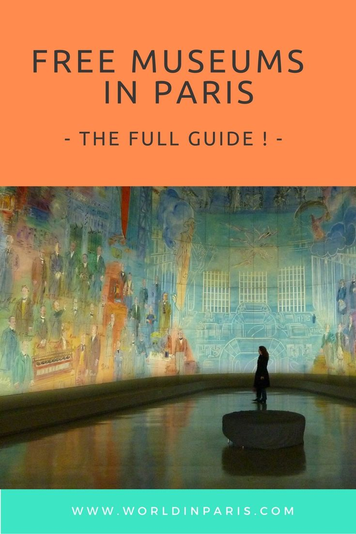 Free Museums Paris - Check our little list of Parisian museums where you can always pop into for absolutely free, at least for its permanent collections.