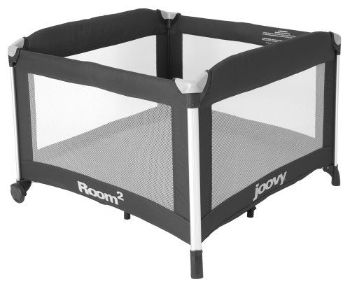 Joovy Room² Portable Playard, Black | Best Buy Baby Products Store