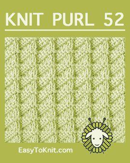 Knit Purl 52: Triângulo de meia - fácil de tricotar