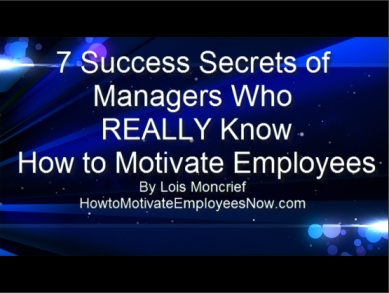 will the leaders and managers motivate staff differently Leadership and management network group better employee motivation and well-being tell you they know that good management makes a real difference to.
