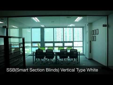 VITSWELL SSB(Samrt Section Blinds) Vertical Type