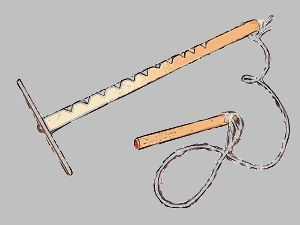 Die Hui-Maschine-Eine der einfachsten Holz-Bastelarbeiten für Kinder, die ich kenne. Das spannende ist die verblüffende Funktionsweise, über die Physiker schon seitenlange Abhandlungen geschrieben haben.