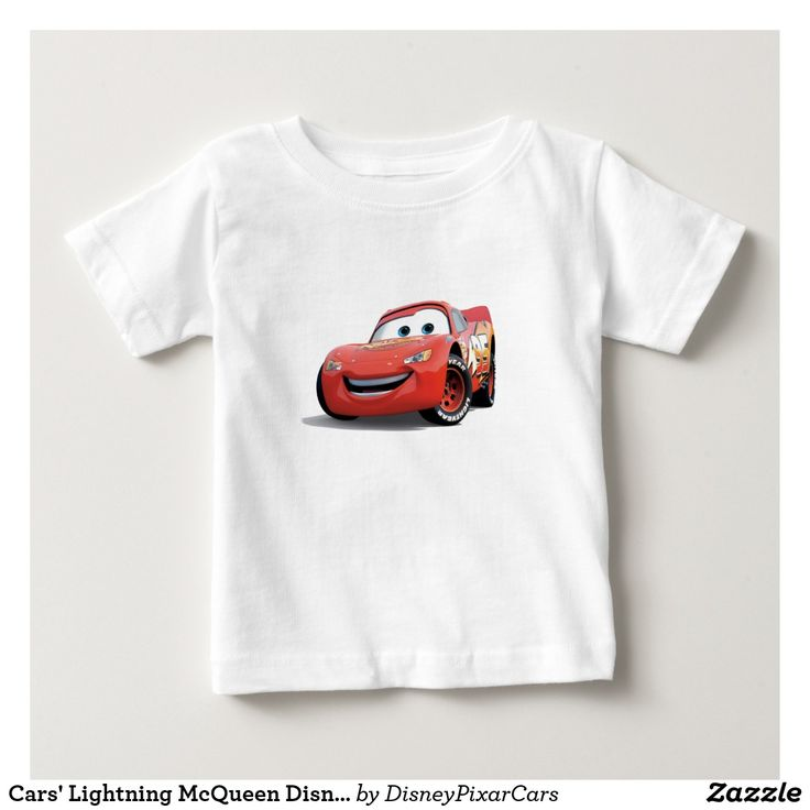 Cars' Lightning McQueen Disney. Producto disponible en tienda Zazzle. Vestuario, moda. Product available in Zazzle store. Fashion wardrobe. Regalos, Gifts. Trendy tshirt. #camiseta #tshirt