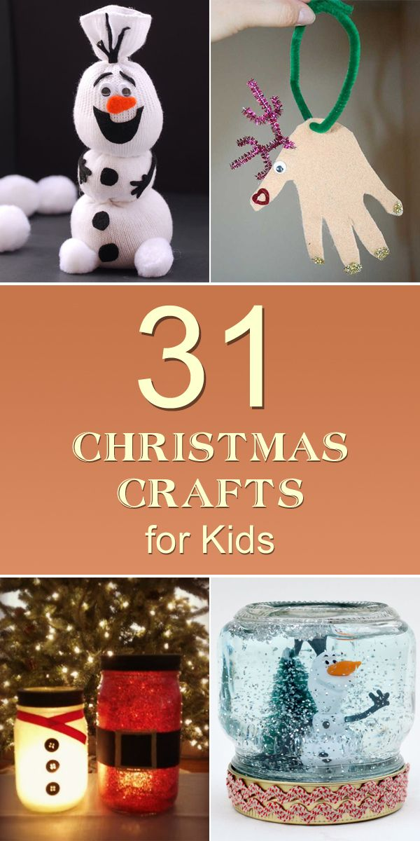 31 Easy & Cheap Christmas Crafts for Kids | Craft Ideas ...