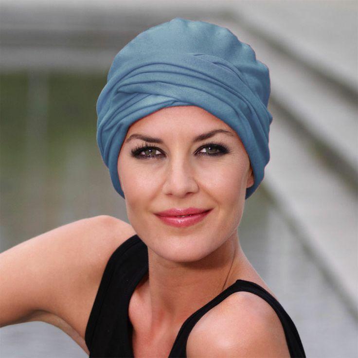 Bamboo/cotton turban with pleats  RRP $55.95  Shop: https://rigon-headwear.myshopify.com/collections/christine-headwear/products/20-03-bamboo-cotton-turban-with-pleats