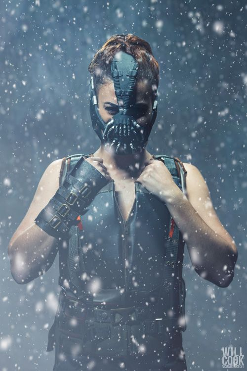 Genderbent Bane Cosplay http://geekxgirls.com/article.php?ID=7374