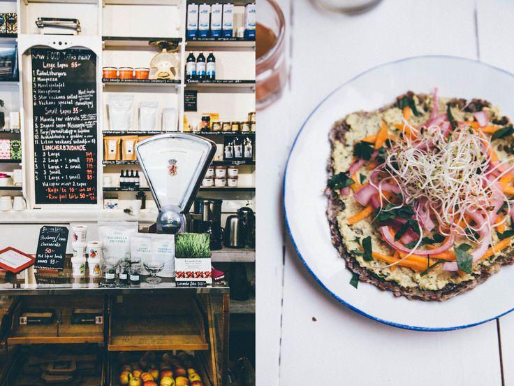 "Raw, vegan and gluten free at Matapoteket in Sofo. Matapoteket means ""The food pharmacy"" in Swedish."