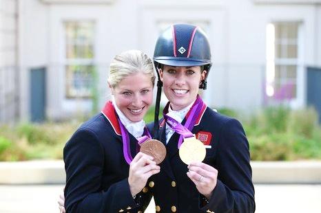 Team GB - Individual Dressage  53. Charlotte Dujardin - GOLD  54. Laura Bechtolsheimer - BRONZE