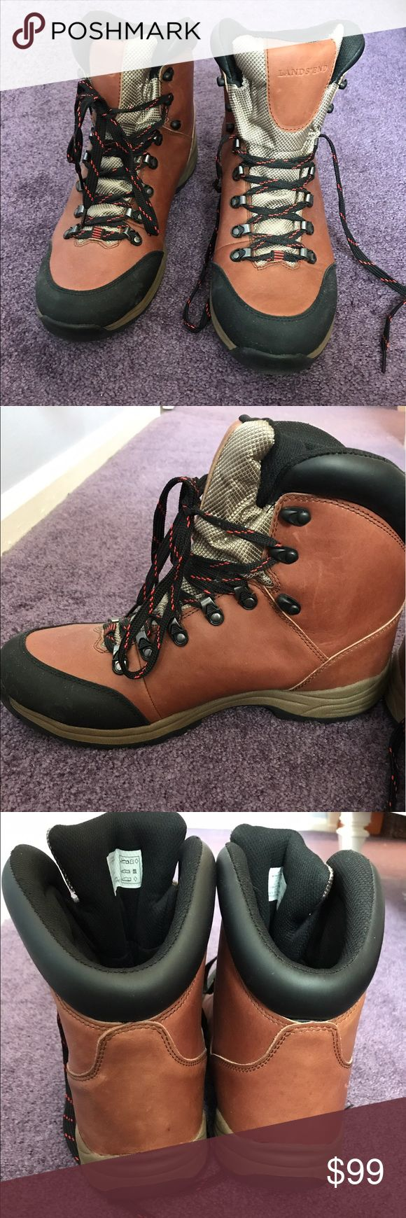 Lands End Men's Snow Boots Men's Waterproof snow boots. Never worn! Perfect condition! Lands' End Shoes Rain & Snow Boots