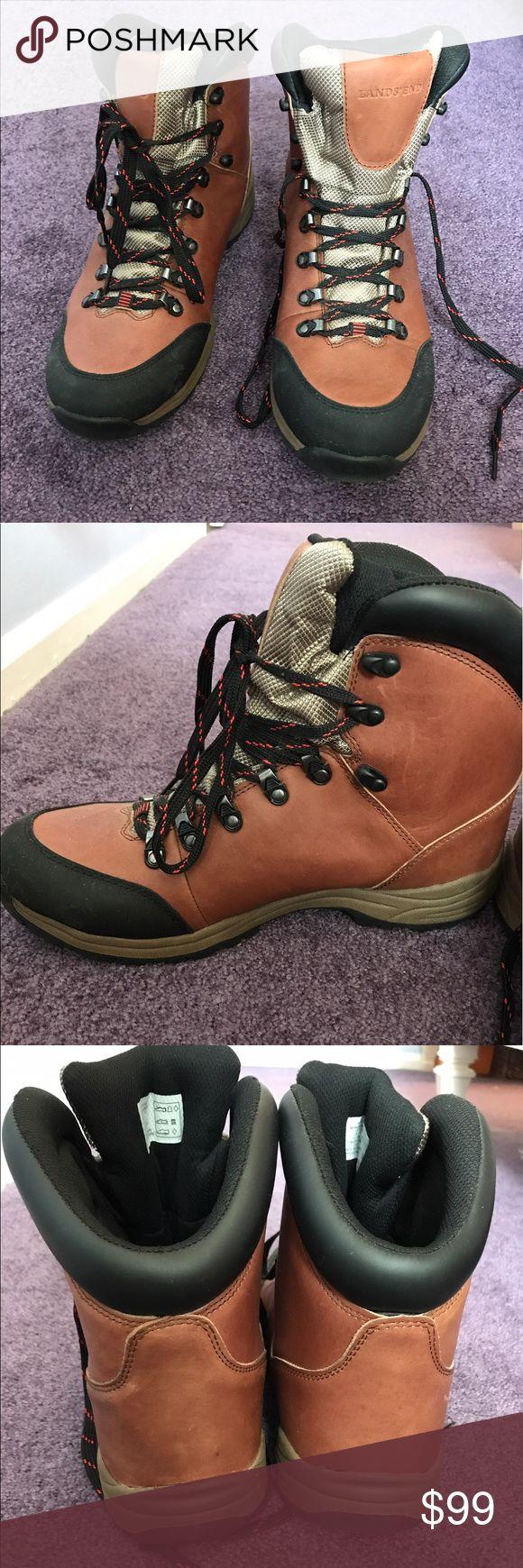 Lands End Men's Snow Boots Men's Waterproof snow boots. Never worn! Perfect condition! Lands' End Shoes Rain & Snow Boots