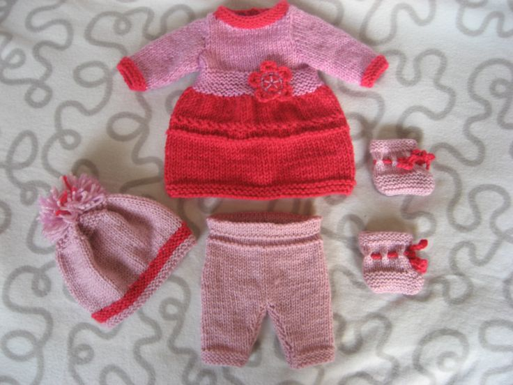 New outfit set for Baby Born Girl