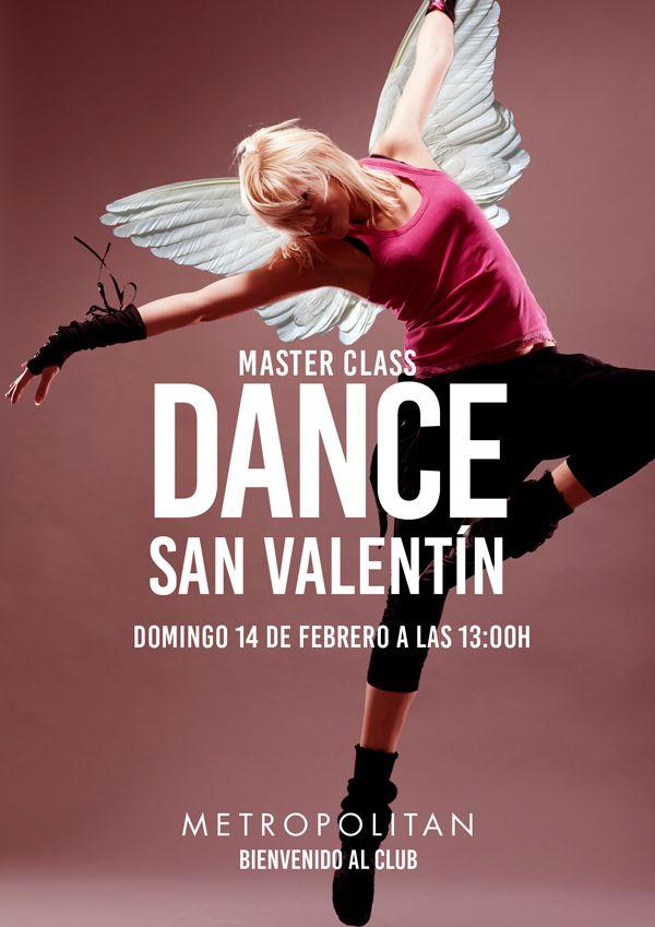 Master Class Dance San Valentín en Metropolitan Abascal.