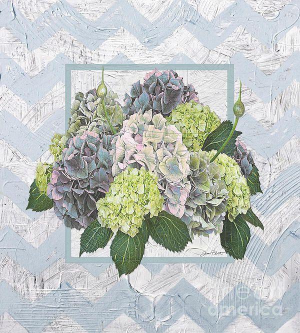 I uploaded new artwork to fineartamerica.com! - 'Hydrangea Vignette-blue' - http://fineartamerica.com/featured/hydrangea-vignette-blue-jean-plout.html via @fineartamerica