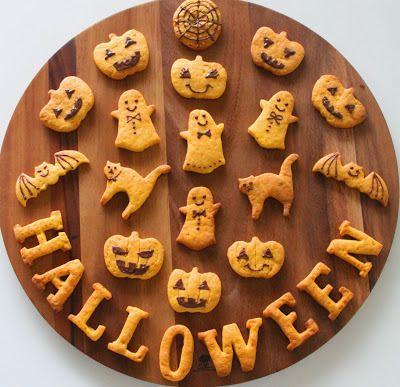 ハロウィンのかぼちゃクッキー