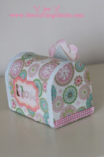 another cute one made from tin mailbox bought at the store