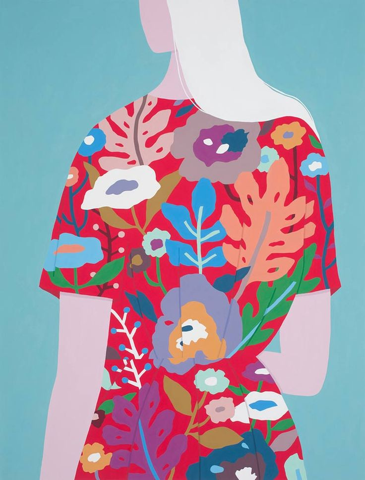 <p>Ayumi Takahashi perfectly manages to mix the ancient with the contemporary, she creates stunning portraiture with eye-popping colors and clean lines. Born in China, raised in Japan, and educated in