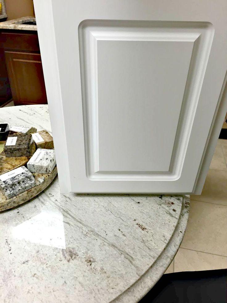 Marble Looking Granite Countertops : ... granite, White granite kitchen and Granite kitchen counter inspiration