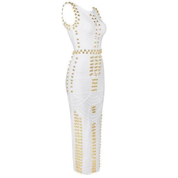 Studded Bandage Dress