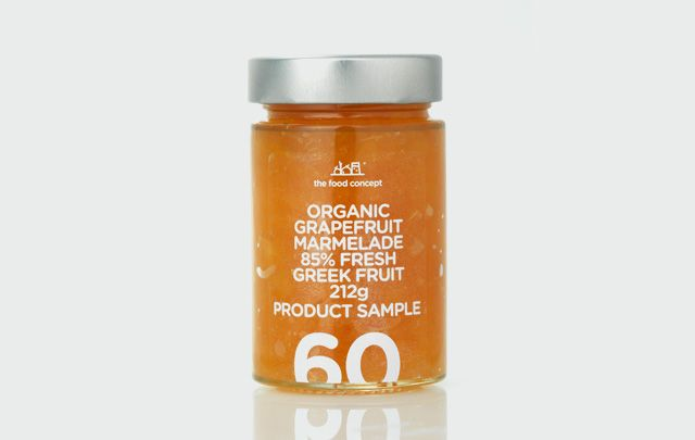 Sampling line : Organic grapefruit marmalade