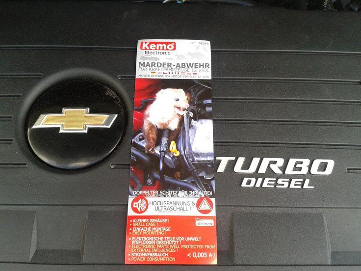 Chevrolet Orlando 2012 г. 163 лс 2.0 Дизель . Как защитить машину от Кун...