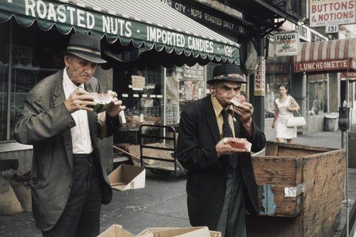 Helen Levitt. New York. 1981