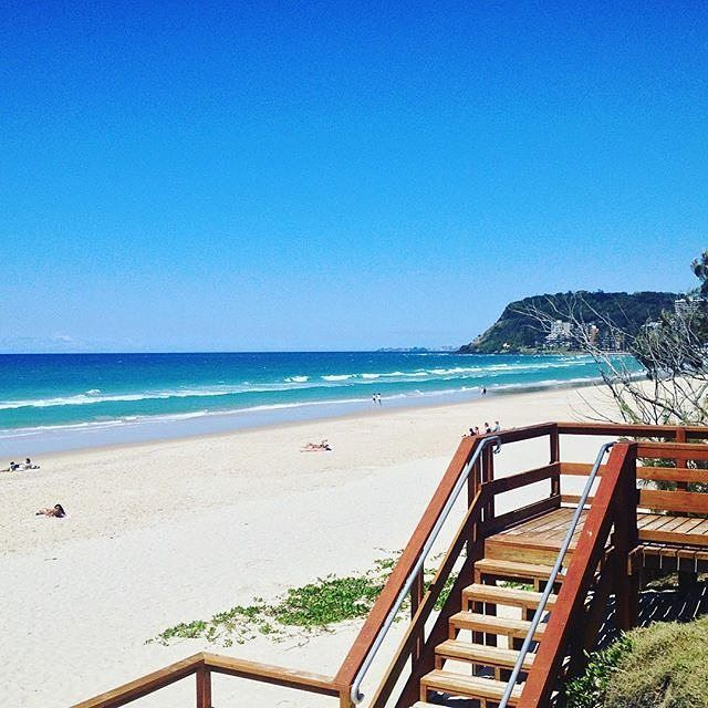 Heading to Burleigh #thisisqueensland by @tinka_bell