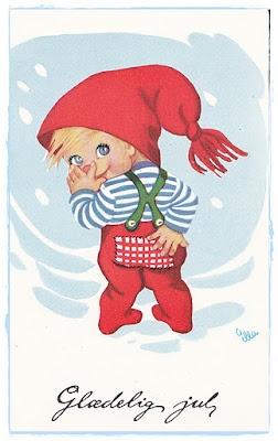 Sommerhusliv Hele Aaret: Søde Julekort