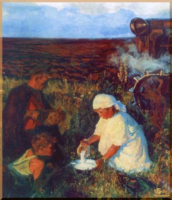 Plastov- 7 Репродукция, картины, сувенир, подарки