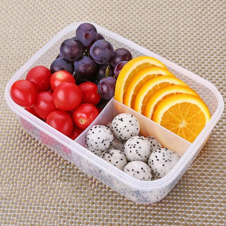 New Portable Portable Microwave Lunch Boxs Containers 2 3 Compartments Bento Box Food Storage Eco Friendly. Click visit to buy #dinnerware