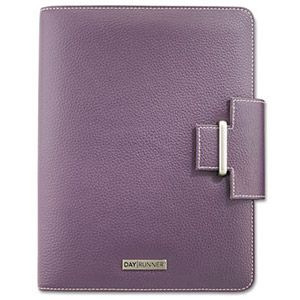 """This is in my wish list.Day Runner Express Terramo Refillable Planner, 5-1/2"""" x 8-1/2"""", Eggplant"""