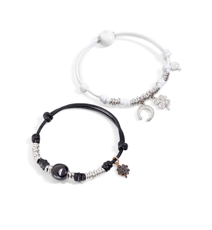In black or white diamonds, luck is always by your side.