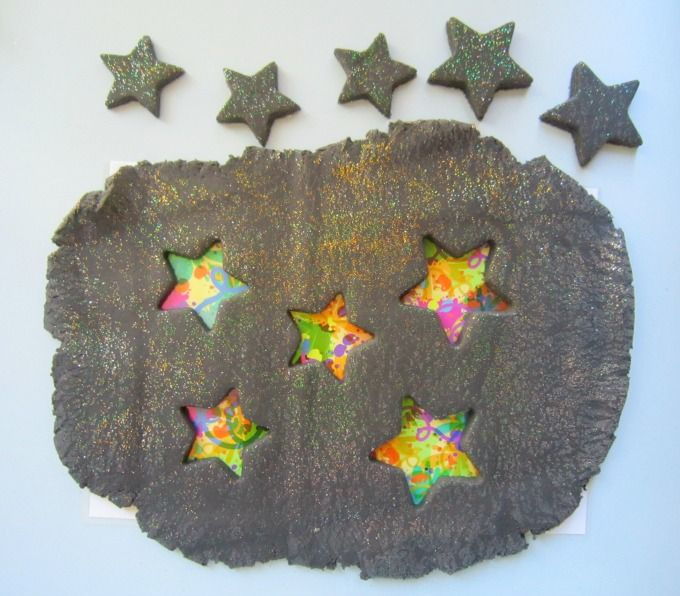 Bonfire Night playdough Guy Fawkes Night firework art