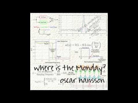Oscar Hansson - Where Is The Monday?