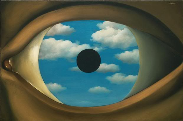 """Rene Magritte's """"The False Mirror""""...Window to the soul"""