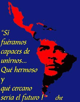 Si fueramos capaces de unirnos, que hermoso y que cercano seria el futuro. Che Guevara
