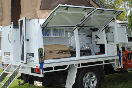 Single Cab | Outback Campers