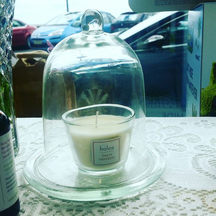 Holos Sweet Mandarin Candle in McQuillans Pharmacy Dundalk