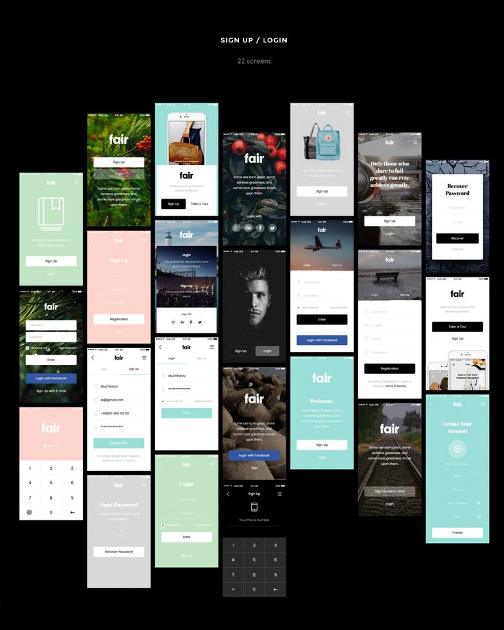 Fair Mobile UI Kit is the excellent assistant for fast creation of your project. In it excellent fonts and colors, which now in a trend are picked up. Each project which will be made by means of it will be modern and convenient in use.