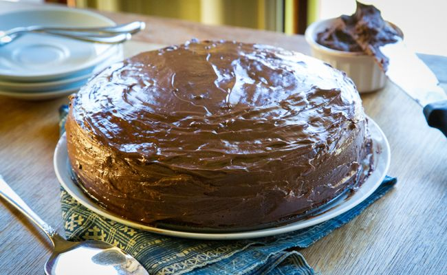 A Sweet and Simple Chocolate Cake Recipe
