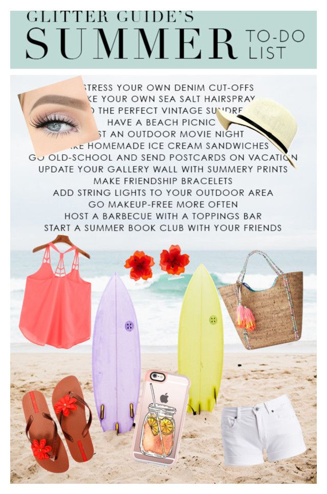 """""""Beach style"""" by szabo-b-aniko on Polyvore featuring Lilly Pulitzer, IPANEMA, Barbour International, LULUS and Casetify"""
