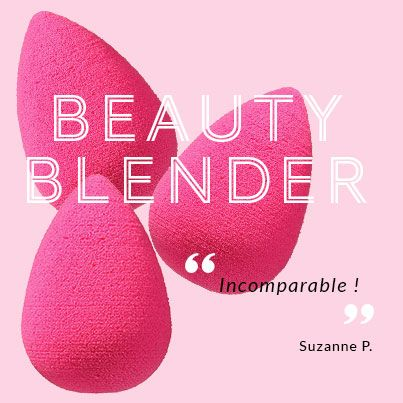 Le meilleur allié des teints parfait : l'éponge Beauty Blender !