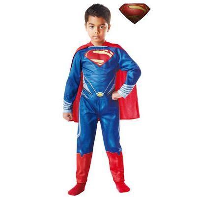 Disfraz de Superman El hombre de acero para niño