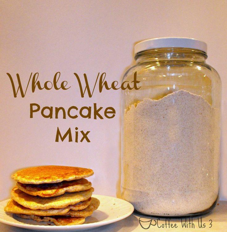 Whole Wheat Pancake Mix